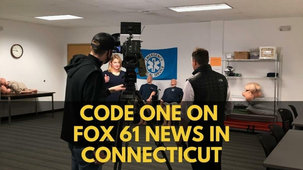 Code One on Fox 61 news in Connecticut