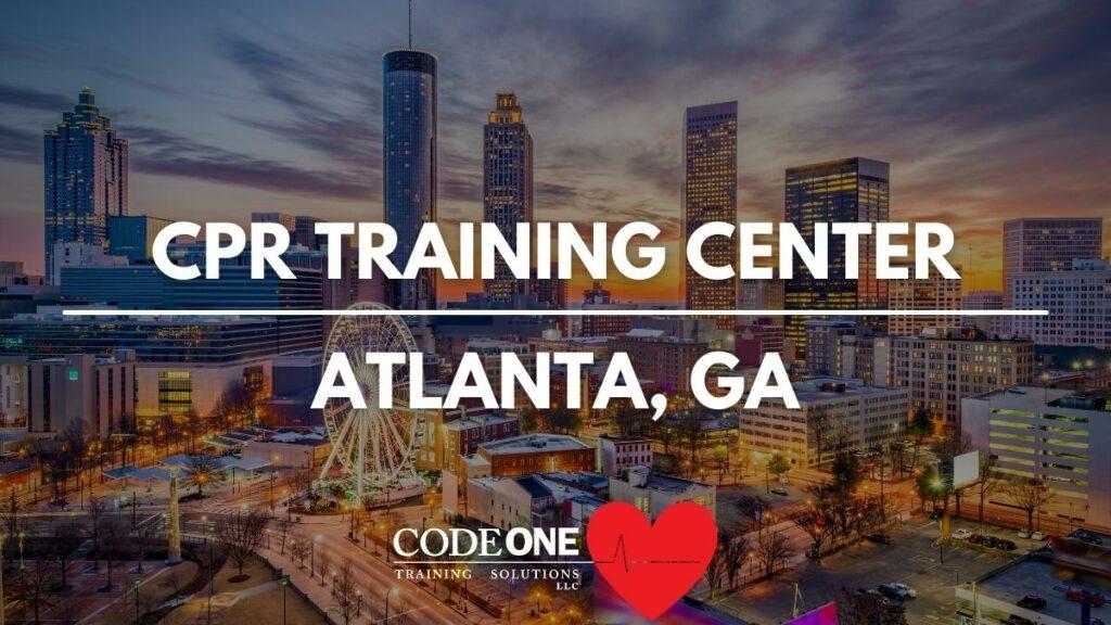 CPR Training Center Atlanta